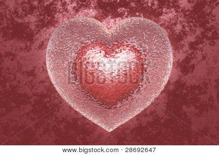 coração de vidro