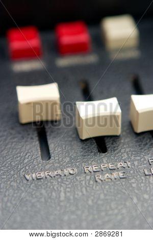 Vibrato Slider Detail