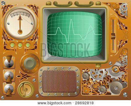 Industrial Steampunk Media Player