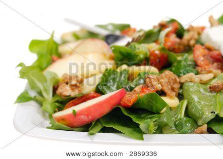 frischen und gesunden Salat