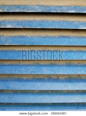Grunge Blue Lines Background