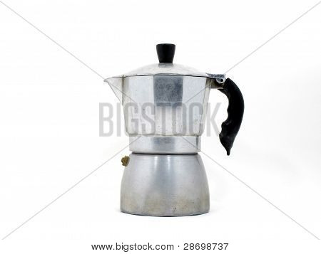 Italian coffee maker (moka pot)
