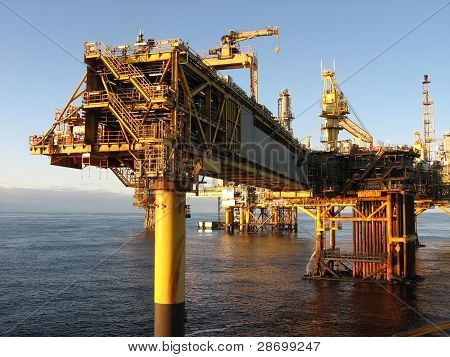 Large Oil rig