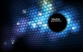 picture of spatial  - abstract vector banner - JPG