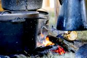 stock photo of dutch oven  - old - JPG