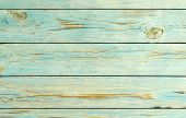 Wood Blue Planks Texture Background. Wooden Striped Surface Of Blue Color, Texture Or Background. Bl poster