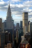 stock photo of new york skyline  - manhattan - JPG