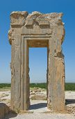 image of xerxes  - haghly detailed image of Ruins of ancient city of Persepolis - JPG