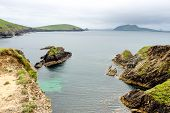 Beautiful View Between Slea Head And Dunmore Head At Slea Head Drive, One Of Irelands Most Scenic Ro poster