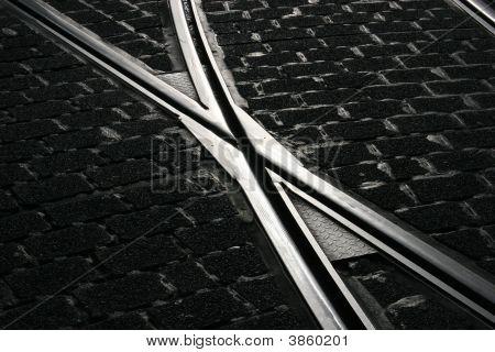 Switch Of A Tramway