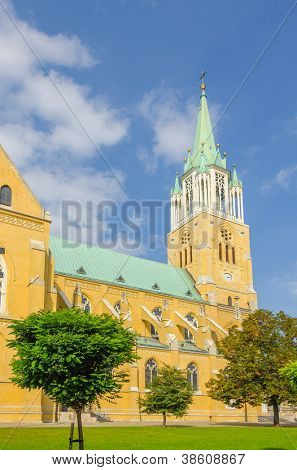 Cathedral Basilica of St. Stanislaus Kostka in Lodz