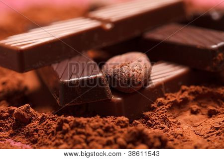 chocolate com cacau