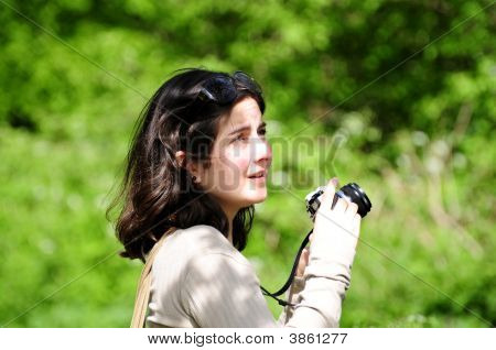 Lady With Camera