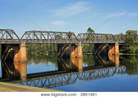Victoria Bridge Over The Nepean River