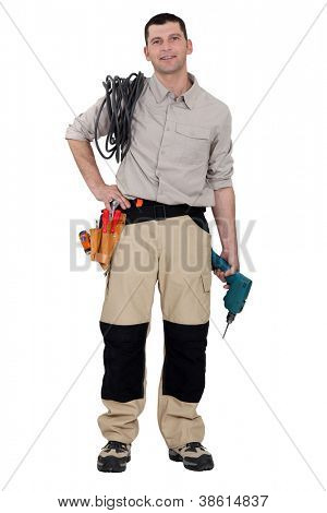 Portrait of a handyman