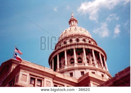 Texas Capitol In Austin