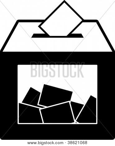 Wahlurne symbol