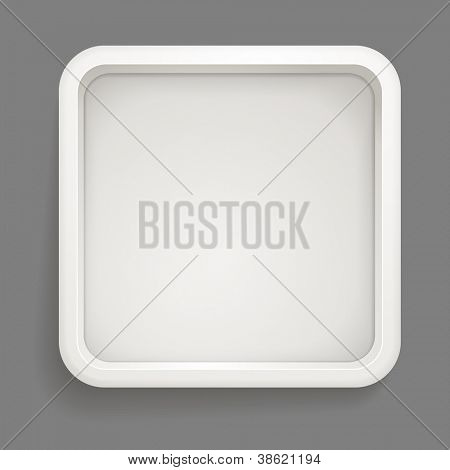 Abstract background of grey box. Template for a text