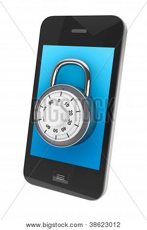 Mobile Phone With Lock