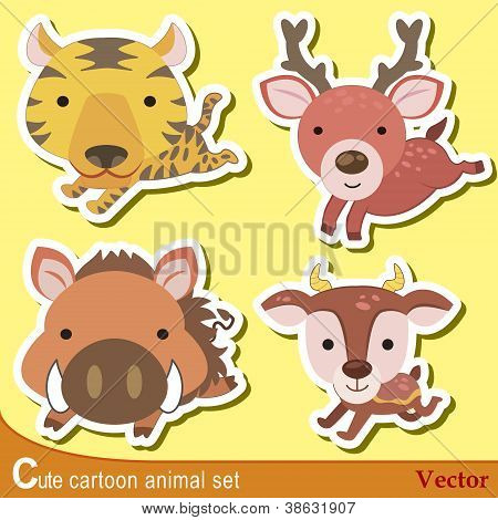Cute Animal Set07