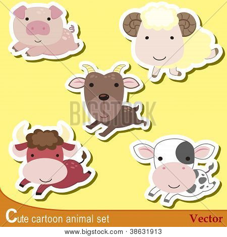 Cute Animal Set08