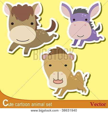Cute Animal Set10