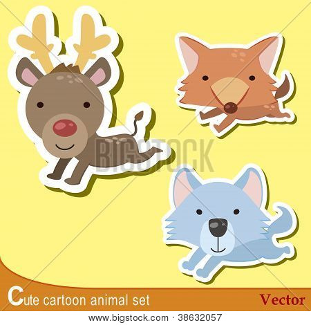 Cute Animal Set11