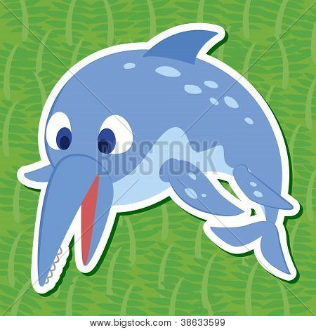 Cute Dinosaur Sticker12