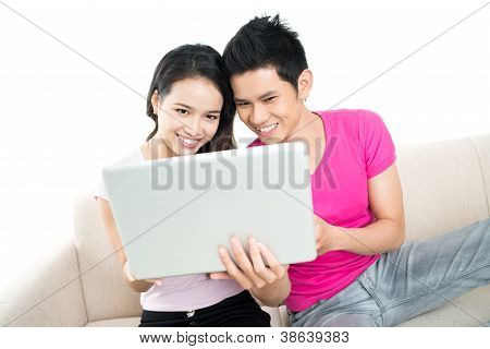 Laptop Couple