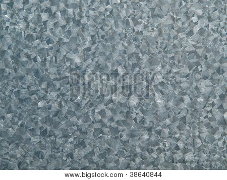 Zinc plate or galvanized texture with high contrast.