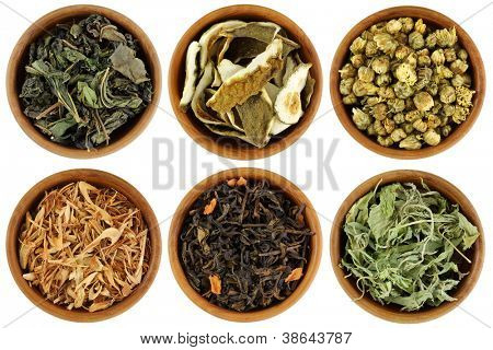 Dried Herbal Tea : Mulberry, Kaffir Lime Peel, Chrysanthemum, Lemongrass, Chinese Jasmine, Stevia Tea