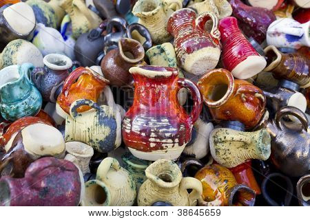 Ceramic  Jugs And Cups