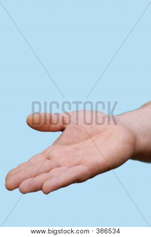 Hand : Open