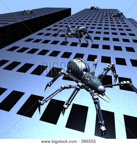 Robospiders Attack