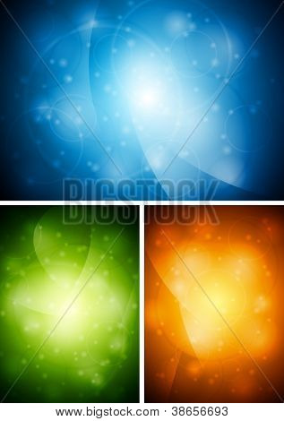 Abstract colourful backgrounds. Vector design eps 10