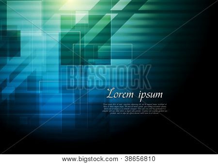 Dark abstract hi-tech design. Vector background eps 10