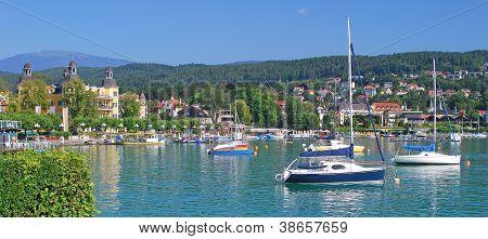 Velden,Lake  Woerthersee,Carinthia,Austria