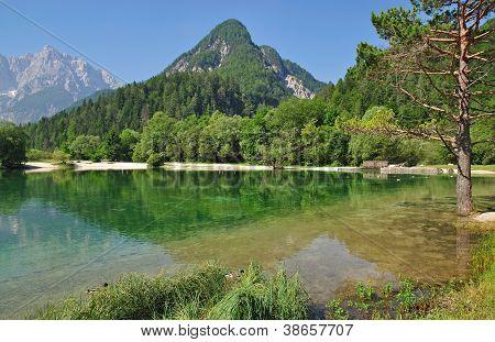 Lake Jasna,Kranjska Gora,Slovenia