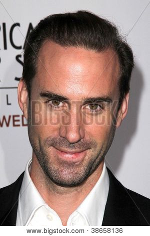 """LOS ANGELES - OCT 13:  Joseph Fiennes arrives at the """"American Horror Story: Asylum"""" Premiere Screening at Paramount Theater on October 13, 2012 in Los Angeles, CA"""