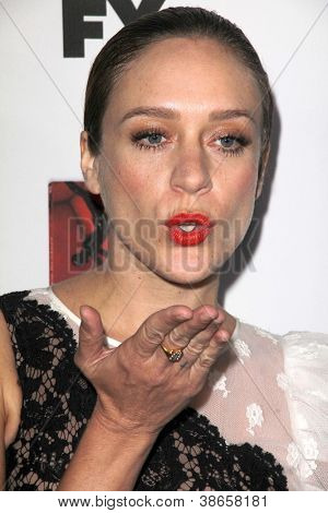 "LOS ANGELES - OCT 13: Chloë Sevigny kommt an die ""American Horror Story: Asyl"" Premiere-Screeni"