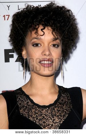 "LOS ANGELES - OCT 13:  Britne Oldford arrives at the ""American Horror Story: Asylum"" Premiere Screening at Paramount Theater on October 13, 2012 in Los Angeles, CA"