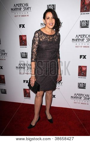LOS ANGELES - OCT 13:  Gloria Laino arrives at the