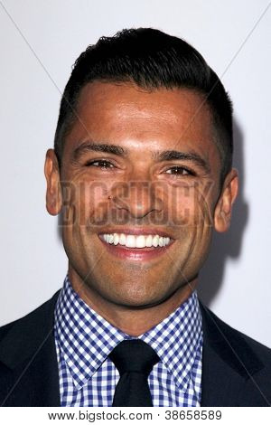 """LOS ANGELES - OCT 13:  Mark Consuelos arrives at the """"American Horror Story: Asylum"""" Premiere Screening at Paramount Theater on October 13, 2012 in Los Angeles, CA"""