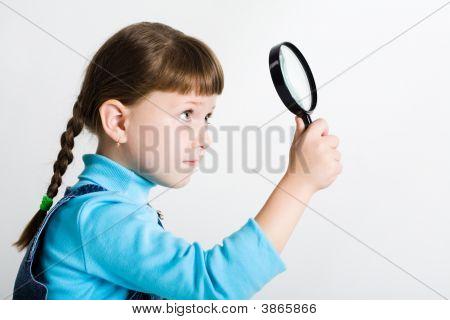 wenig Spion