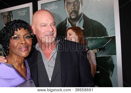 "LOS ANGELES - OCT 15:  Cicely Tyson, Rob Cohen arrives at the ""Alex Cross"" Premiere at ArcLight Cinemas Cinerama Dome on October 15, 2012 in Los Angeles, CA"