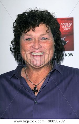 LOS ANGELES - OCT 13:  Dot Marie Jones arrives at the