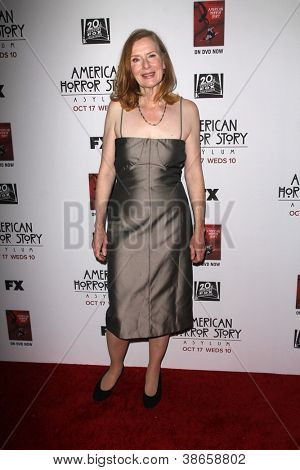 """LOS ANGELES - OCT 13:  Frances Conroy arrives at the """"American Horror Story: Asylum"""" Premiere Screening at Paramount Theater on October 13, 2012 in Los Angeles, CA"""