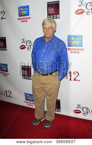 LOS ANGELES - OCT 15:  Robert Morse arrives at the LES GIRLS 12th Annual Cabaret at Avalon Hollywood on October 15, 2012 in Los Angeles, CA