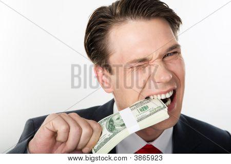 Degustação de dinheiro