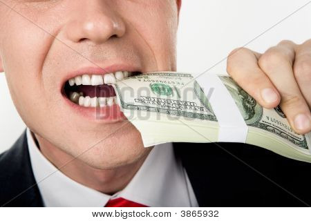 Biting Money